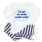 Coolest Uncle Toddler Pajamas