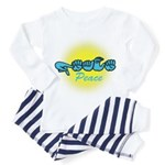 PEACE Glo CC Toddler Pajamas