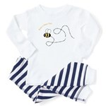 1st Bee Flying Fancy Toddler Pajamas