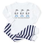 How Bout Dem Boobies Toddler Pajamas