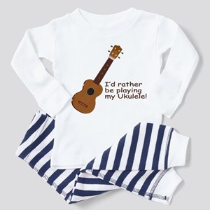 Ukulele Design Toddler Pajamas