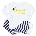Class of 2026 Toddler Pajamas