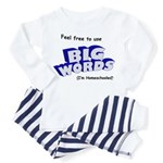 Big Words Toddler Pajamas