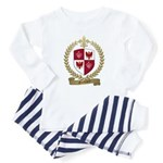 GUILLORY Family Crest Toddler Pajamas
