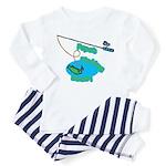 Papa's Fishing Buddy Toddler Pajamas