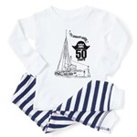 Radio London 50th Anniversary Toddler Pajamas