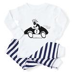 Kokopelli Race Car Driver Toddler Pajamas