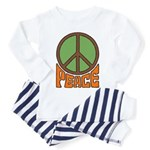 Peace Toddler Pajamas