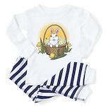 Pocket Easter Bunny Toddler Pajamas