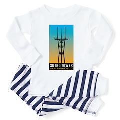 Sutro Tower logo Pajamas