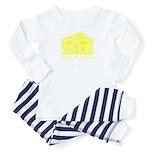 Hooray For Cheese Toddler Pajamas