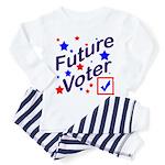 Future Voter Kids Light Toddler Pajamas