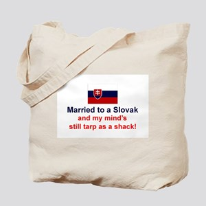 Married To A Slovak Tote Bag