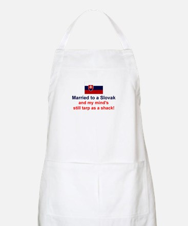Married To A Slovak BBQ Apron