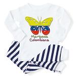 Mariposa Colombiana Toddler Pajamas