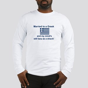 Married To A Greek Long Sleeve T-Shirt