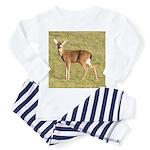 Forked Horn Buck Toddler Pajamas