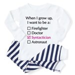 When I Grow Up (Syntactician) Toddler Tee
