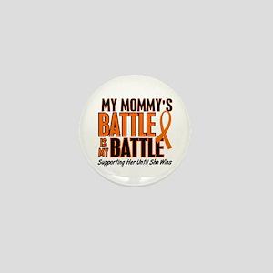 My Battle Too (Daddy) Orange Mini Button