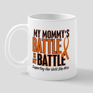 My Battle Too (Daddy) Orange Mug