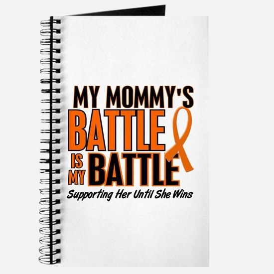 My Battle Too (Daddy) Orange Journal