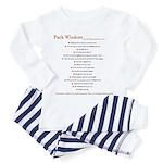 Pack Wisdom Toddler Pajamas