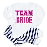 Team Bride Toddler Pajamas