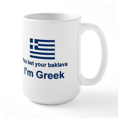You Bet Your Baklava Large Mug