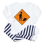 Men at Work Sign 3 - Toddler Pajamas