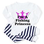 Fishing Princess Toddler Pajamas