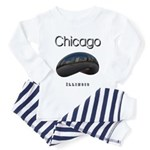 Chicago Toddler Pajamas