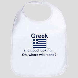 Good Looking Greek Bib