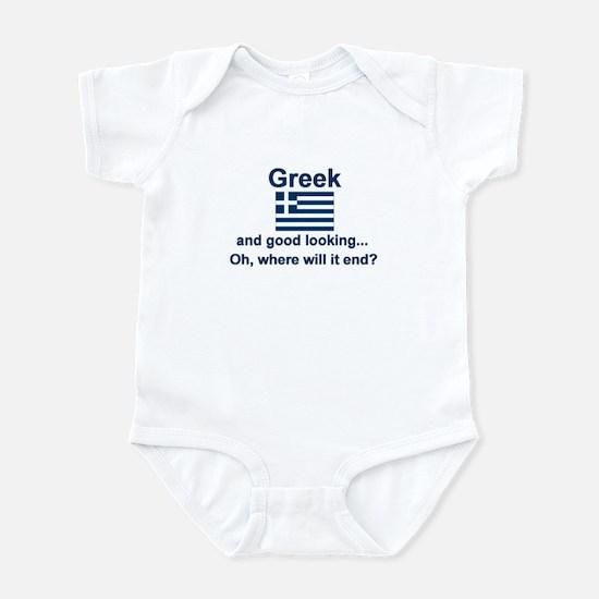 Good Looking Greek Infant Bodysuit