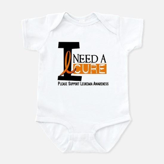 I Need A Cure LEUKEMIA Infant Bodysuit