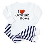 I Love Jewish Boys Toddler Pajamas