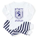 Jerusalem Emblem Toddler Pajamas