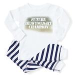 Future Heavyweight Champion Toddler Pajamas