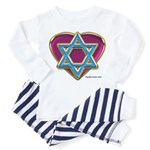 Heart For Israel Toddler Pajamas