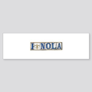 Love NOLA Bumper Sticker