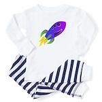 Rocket ship Toddler Pajamas