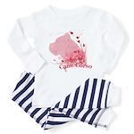 Cane Corso Pink Toddler Pajamas