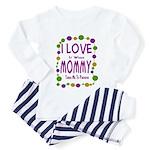 Mommy Takes Me To Parades Toddler Pajamas