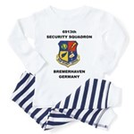 6913TH SECURITY SQUADRON Toddler Pajamas
