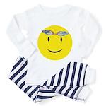 Swimmer Smiley Toddler Pajamas