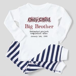 faa18e075 Baby Big Brother Toddler Pajamas - CafePress