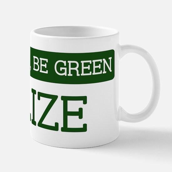 Green BELIZE Mug