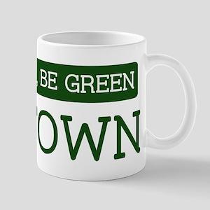 Green BAYTOWN Mug