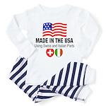 Swiss Italian Parts Toddler Pajamas