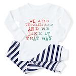 Unsocialized Toddler Pajamas