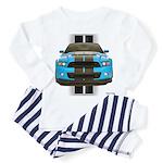 New Mustang Blue Toddler Pajamas
